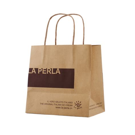 Paper Bag Custom custom brown paper bag for food china custom brown paper
