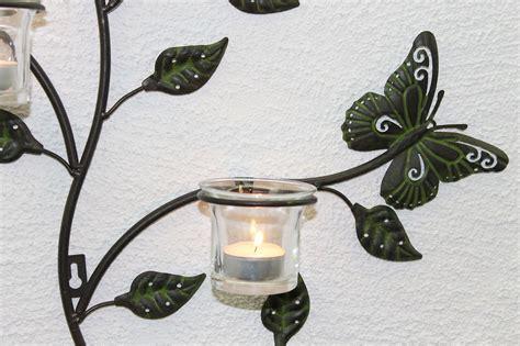 wall mounted tea light holders wall mounted tea light holder 12120 tealight metal 62cm