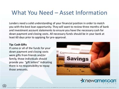 Closing Cost Gift Letter 5 Things You Need To Be Pre Approved For A Mortgage Loan