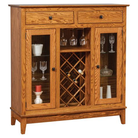 canterbury wine cabinet amish crafted furniture