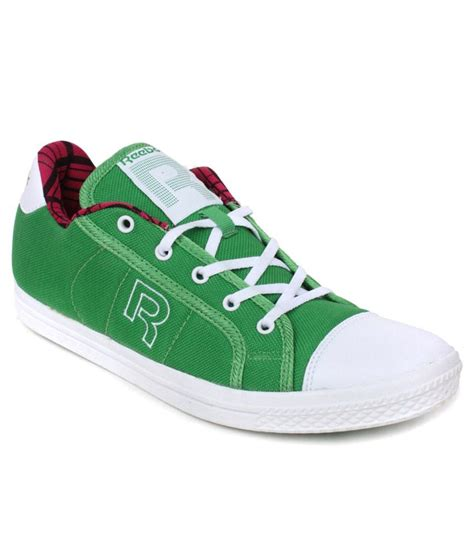 reebok green white casual shoes price in india buy
