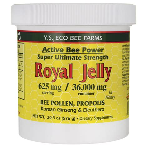 Garden Of Royal Jelly Y S Eco Bee Farms Active Bee Power Royal Jelly In Honey