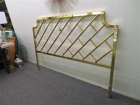Bed Frames Fantastic Furniture Fantastic Brass Lattice Regency King Size Headboard For Sale At 1stdibs