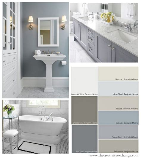 Color Schemes Bathroom by Best Bathroom Colors Paint Color Schemes For Bathrooms
