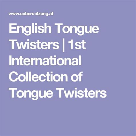 best tongue twisters best 25 tongue twisters ideas on tongue