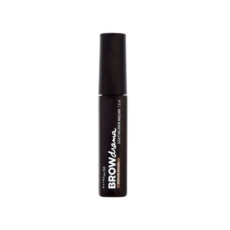 Maybelline Sculpting Brow Mascara maybelline brow drama sculpting mascara medium brown żel