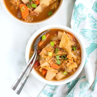 Http Www Sixsistersstrong 2017 10 Loaded Vegetable Detox Soup by Easy Veggie Cabbage Soup Nourished