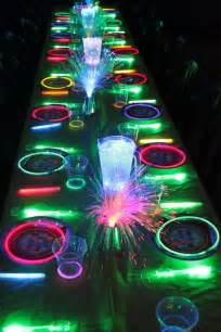 Bubbles Chandelier Glow In The Dark Kids Birthday Party Ideas Unique
