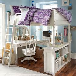 Desk With Storage Space Mixing Work With Pleasure Loft Beds With Desks Underneath