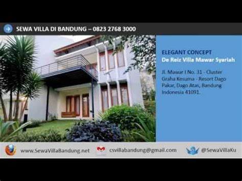 Hp Zu Di Bandung hp 0823 2768 3000 sewa villa di bandung murah