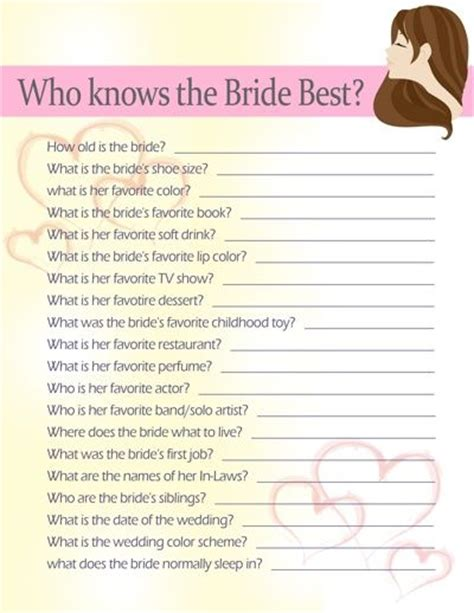 Questions To Ask Husband To Be For Bridal Shower by 10 Bridal Shower Ideas The Dr Who And