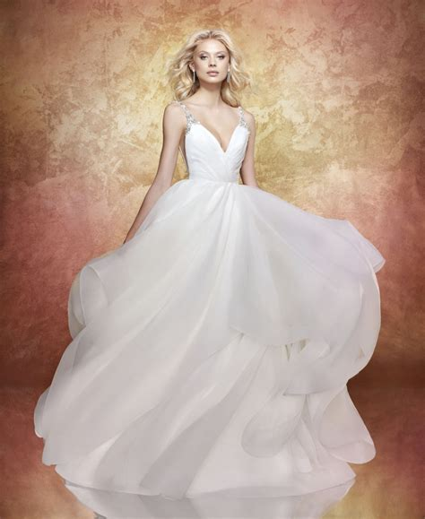 hayley paige bridal dresses wedding photos refinery29 hayley paige wedding dresses fairytale brides