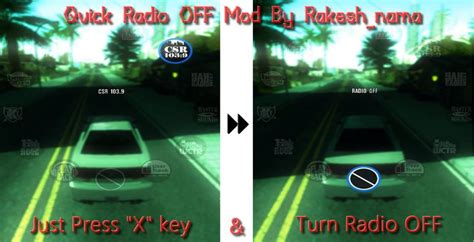 san andreas radio x gtainside gta mods addons cars maps skins and more