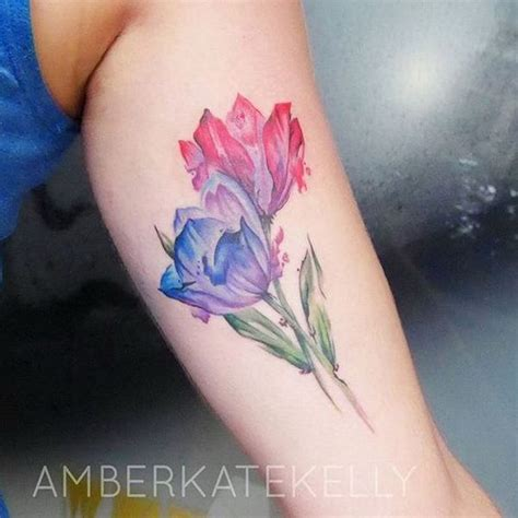 purple tulip tattoo designs 17 best ideas about flower designs on