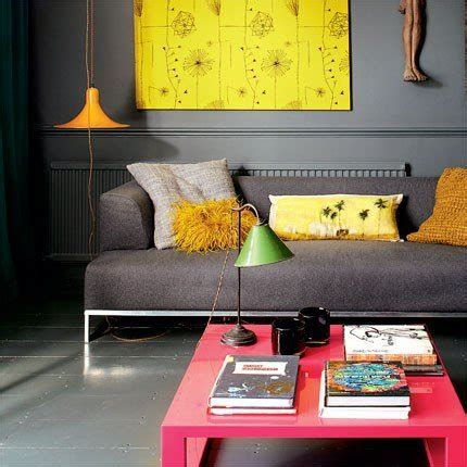 edgy home decor neon trend home decor ideas modern edgy yellow coral gray