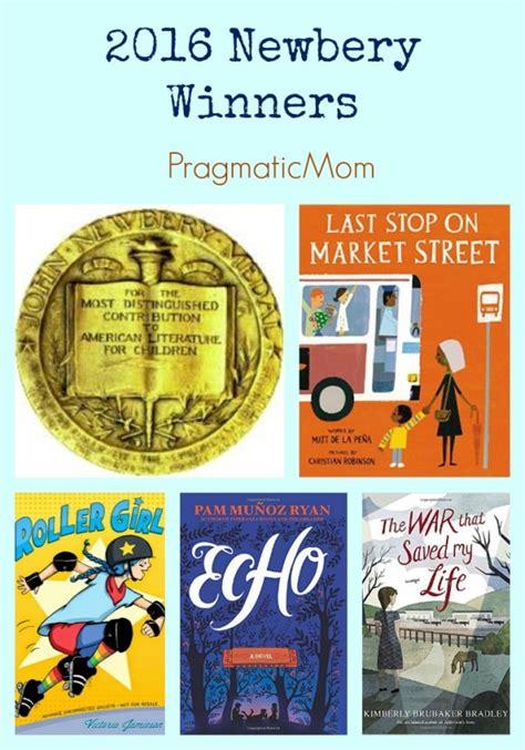 newbery award winning picture books 2016 caldecott newbery winners pragmaticmom