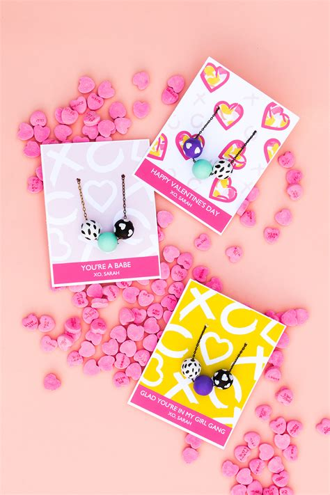 valentines day cards printable s day necklace cards hearts