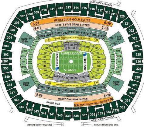 metlife stadium seating chart jets metlife stadium seating chart seat views rows seat
