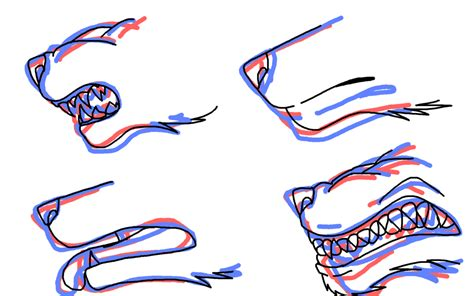 how to a wolf how to draw wolf muzzle by werewolfprotecter on deviantart