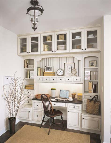 home office design with kitchen cabinets fieldstone cabinetry in glenview a chicago suburb