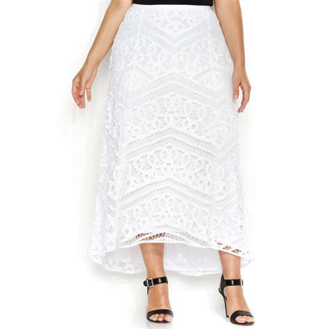 inc international concepts plus size lace highlow maxi