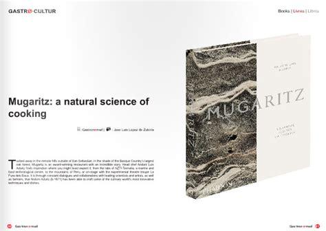 mugaritz a natural science 0714863637 mugaritz prensa apariciones en medios mugaritz creatividad gastron 243 mica e innovaci 243 n