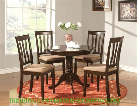 table dinette kitchen table in cappuccino finish 36