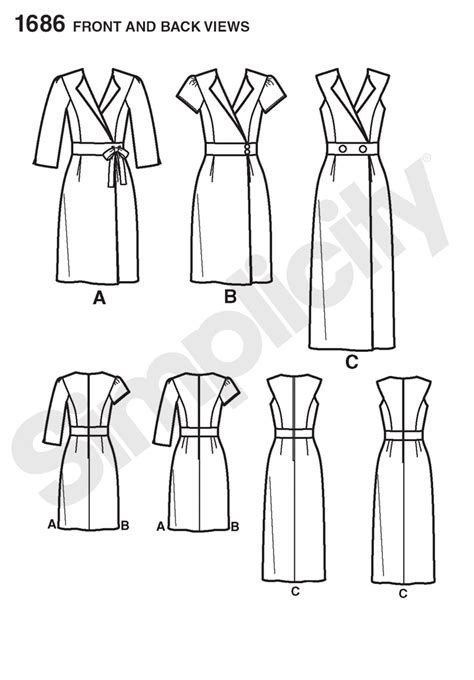 pattern review best of 2012 simplicity 1686 misses miss petite amazing fit dress