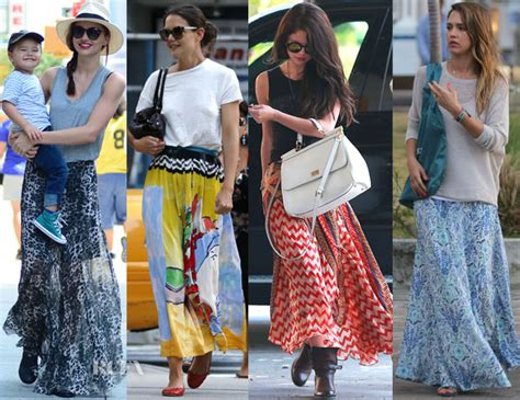 Etnick Plain White how to wear skirts 9 ways to flaunt in maxi skirts