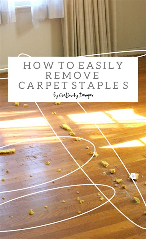 How to Remove Carpet Staples from Wood Floors   The Easy