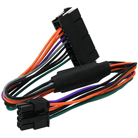 Dazumba 380w 24 Pin Power Supply comeap 24 pin to 8 pin atx psu power adapter cable for dell optiplex 3020 7020 9020 precision