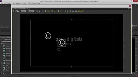 copyright symbol 169 for premiere pro after effects how to write the copyright symbol in adobe premiere and