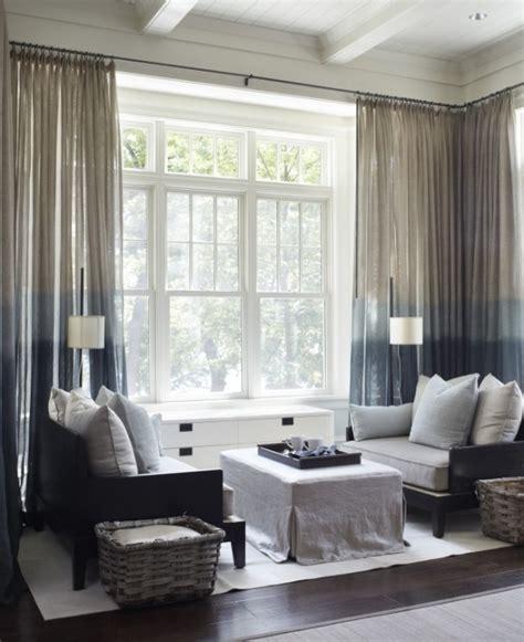 dunkle gardinen drapierte lichtdurchl 228 ssige gardine wohnzimmer