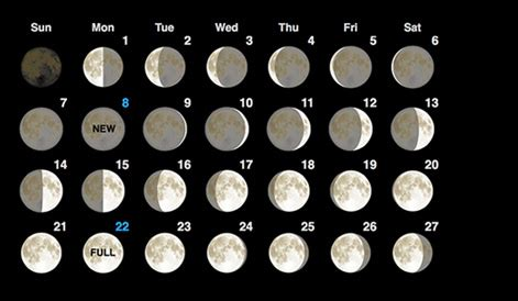 moon phases may 2016 calendar | moon schedule | printable