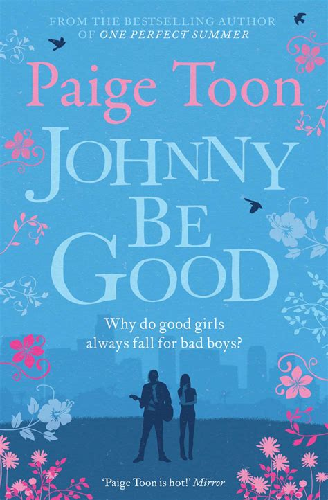 paige toon johnny be good book by paige toon official publisher