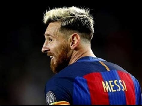 Messi New Hairstyle by Lionel Messi New Hair Style 2017 Lionel Messi New Hair