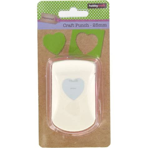 Shaped Paper Cutters For Crafts - hobbycraft small punch different shapes handheld paper