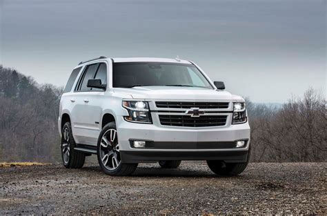 first chevy suburban 2018 chevrolet tahoe and suburban rst first look motor trend