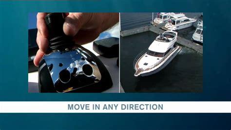 volvo pentas boat joystick controls  docking youtube
