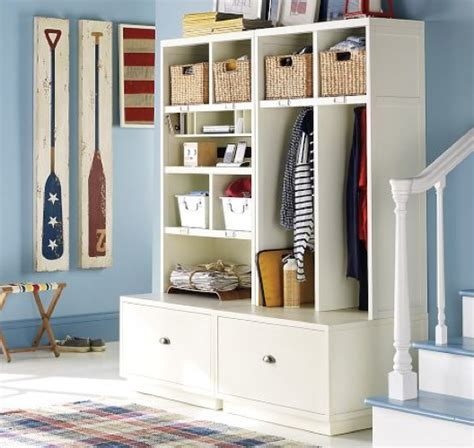 mudroom organization friday s five minute fix create a drop zone zeller