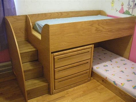 simple but bunk beds on bunk bed custom