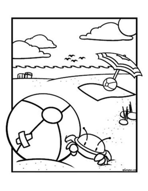 beach coloring pages preschool beach ball coloring page preschool items juxtapost