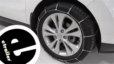 Kia Soul Snow Tires by Glacier Cable Snow Tire Chains Review 2016 Kia Soul