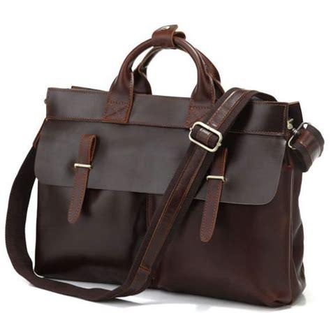 Handmade Laptop - vintage handmade genuine leather briefcase messenger