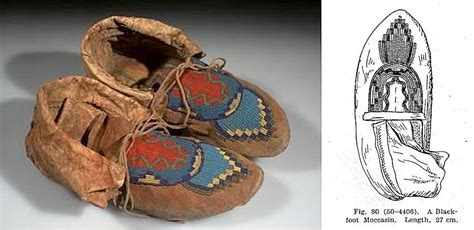 Home Decor Magazines Online how to make blackfoot moccasins based on clark wissler