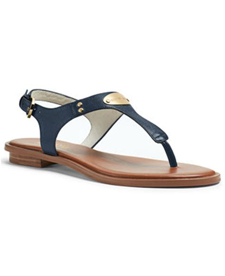 michael kors sandals macys michael michael kors mk plate flat sandals sandals