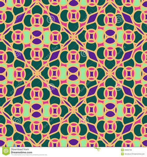seamless moroccan pattern seamless pattern of moroccan mosaic stock vector image