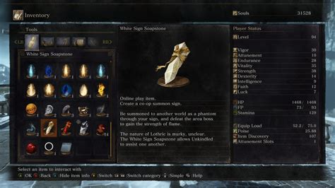 Souls How To Use White Sign Soapstone - souls 3 guida completa al multiplayer cooperativo