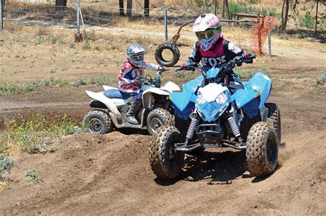Suzuki Polaris Dirt Wheels Magazine Polaris Outlaw 90 Vs Suzuki