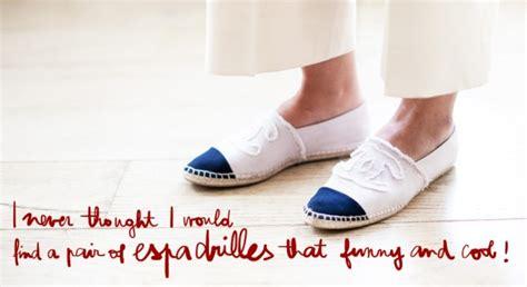 St Coco C Nel visual fashionist espadrillas chanel trend anche per l